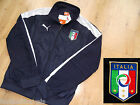 S M XL PUMA ITALIA WALK OUT JACKET Top football soccer calcio New ITALY NAVY