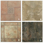 "Marble Stone Self Adhesive Peel N Stick Vinyl Floor Tile - 40 Pieces 12""X12"""