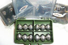 DRILLED LEAD WEIGHTS SINKERS visit russthefish for your Sea/Carp fishing tackle