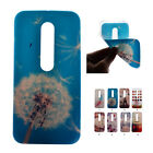 New Slim Paint Soft TPU Silicone Cover Back Case Cover Skin For Motorola Moto G3