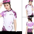 Women's Sportwear Bike Bicycle Clothing Short Sleeve Pants Cycling Jersey Suits