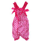 Baby Girls Pretty Ruffle Strap Rompers Newborn Infant One-Piece Lovely Jumpsuit