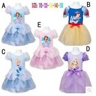HALLOWEEN PARTY PRINCESS Character Girl Costume Kids Cosplay Clothing 2-7Yrs