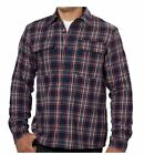NEW Men's Boston Traders Flannel Jacket Shirt with Fleece Lining - VARIETY