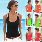 Fashion Women Summer Vest Tops Sleeveless Blouse Casual Tank Tops T-Shirt Blouse