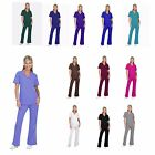 Kyпить Unisex Men/Women Natural Uniforms Medical Hospital Nursing Scrub Set Top & Pants на еВаy.соm