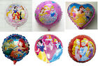 Disney Princess Round Foil Balloon Decoration​ Girl Beauty Party Favor Props