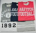 Wholesale Lot of 5 Abercrombie & Fitch Mens  Muscle Fit T-Shirt X-Large