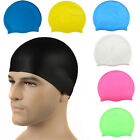 New Silicone Swimming Cap for Women and Men - Long Hair Thick or Short - Average