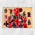 DeadPool Wade Wilson A4 A5 Stickers Set Decals
