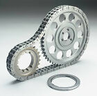 CLOYES BBC CHEVY DOUBLE ROLLER BILLET STEEL TIMING SET # 9-3510TX9