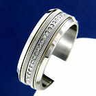 New Stainless Steel Mens Engagement Wedding Anniversary CZ Bridal Band Ring