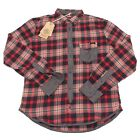 2535P camicia flanella quadri RARE camicia uomo shirt men FOR WINTER