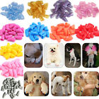 20pcs Soft Silicone Cat Pet Dog Nail Caps Claw Paws Cover Pet Sheath Protective