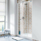 Profile Plus Sliding Shower Door 1000mm White