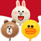 40cm Line Friends Mylar Balloon Kids Boy Girl Party Favor Supply Props Gifts