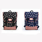 1PC New Women Fashional Stars Backpack Large Capacity Bag For School Travel