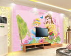 3D Disney Princess Wallpaper Bell Cinderella Wall paper Wall Decals Wall Mural