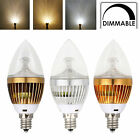 Wholesale E12 3/6/9w Dimmable Sharp High Power Led Chandelier Candle Light Bulbs