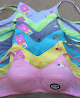 LOT Swan Wire Free Kids Girl COTTON Junior Teen Training Bra 30A 32A 34A