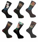 Family Guy - 12 Pairs Men's Fun Novelty Socks Size 6-11 EUR 39-45