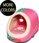 Rabbit-Spotted Active-Play Indoor Panoramic Designer Fashion Pet Dog Bed Beds