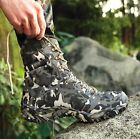 Military Men Shoe Camouflage High Top Outdoor Combat Boots Climbing Desert Boots