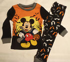 Disney Mickey Mouse Halloween Cotton Pajama Set Sleepwear NWT Size 2 4 Choice