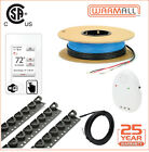 120V Deluxe WiFi Electrical Radiant Warming Floor Heating Cable System All Sizes