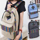 Vintage Women Girl Satchel Rucksack Bookbag Sports Handbag Shoulder Bag Backpack