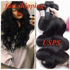 4 Bundles 200g  Remy Virgin Brazilian Body WAVE Human Hair  Extensions US STOCK