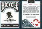 CARTE DA GIOCO BICYCLE WOUNDED WARRIOR,poker size,nuove