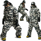 SOUTHPLAY COLLECTION Waterproof Ski Snowboard Jumper Suits Jacket + Pants SET 04