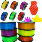3D Printer Filament 1.75mm PLA 1kg/2.2lb RepRap MarkerBot 20+Colors US shipping