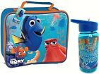 FINDING NEMO DORY CHILDRENS SCHOOL KIDS INSULATED WIPE CLEAN LUNCH BAG BOTTLED