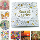 English Adult Secret Garden An Inky Treasure Hunt Coloring Painting Book