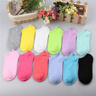 Low Cut 10 Pairs Ladies Fashion Short Cotton New Women Ankle Socks Gift