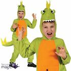 New Boys Girls Halloween Book Day Week T Rex Dinosaur Fancy Dress Costume Outfit