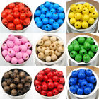 Wholesale 1000Pcs WOOD Round Loose Spacer Charms BEADS Jewelry DIY 4MM*3MM