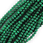 "Synthetic Green Malachite Round Beads 15.5"" 4mm 6mm 8mm 10mm 11mm 12mm 16mm"