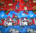 SUPER HEROS #5  FABRICS Sold INDIVIDUALLY NOT AS A GROUP By the HALF YARD