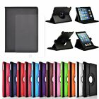 "360 Rotating Leather Case Smart Stand Cover For iPad Mini 1 2 3 Pro 9.7"" iPhone"
