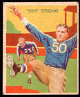 1935 National Chicle #  7 Ken Strong (Giants) VG/EX
