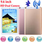 9.6 inch HD Dual SIM Camera 3G Tablet PC Android 4.4 1Gb 16GB WIFI Bluetooth Lot