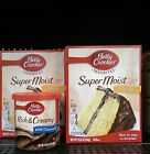 Betty Crocker - Delights Super Moist or Super Moist Cake Mix w -Frosting-You Pic