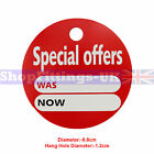 'SPECIAL OFFERS' ROUND PRICE DISPLAY CARD SWING TICKETS FOR RETAIL SALE DISPLAY
