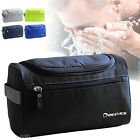 High Quality Mens Large Outdoor Travel Toiletries Cosmetic Shaving Wash Bag Case