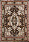 Multi-Color Traditional-European Squares Blocks Area Rug Bordered 1900-01764