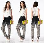 """NEW TOV HOLY Black & White Sheer """"Picasso Branches Britches"""" Pants MSRP $96"""