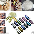 1g/box Shinning Mirror Powder Gold/Sliver Nail Art Chrome Pigment Glitters DIY